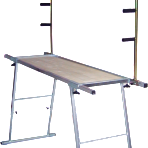 Стол сервисный для обработки горных лыж Racing, с консолью