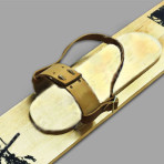 Крепления для охотничьих лыж (кожа) без амортизатора