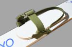 Крепления для охотничьих лыж (брезент) без амортизатора