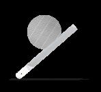 Напильник острый режущий стальной 150мм