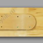 Лыжи деревянные «Таежные» 125см x 200мм