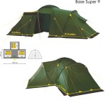 Палатка Talberg Base 9