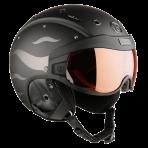 Горнолыжный шлем Bogner Visor Flames black
