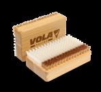 Щетка прямоугольная нейлон бронза VOLA