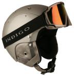 Горнолыжный шлем Indigo Element gold