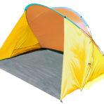 Пляжный тент Jungle Camp Miami Beach желтый/оранжевый