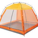 Пляжный тент Jungle Camp Malibu Beach оранжевый