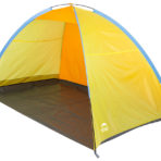 Пляжный тент Jungle Camp Tenerife Beach желтый/оранжевый