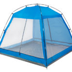 Пляжный тент Jungle Camp Malibu Beach синий
