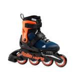Детские роликовые коньки Rollerblade Microblade blue/orange