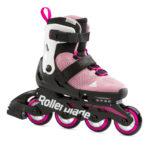 Детские роликовые коньки Rollerblade Microblade G pink/white